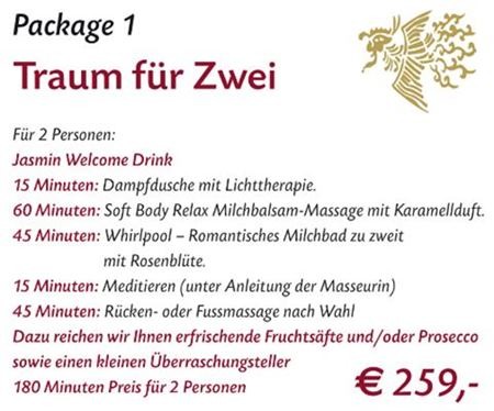 Spa Package 1 Stuttgart