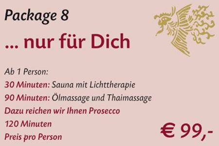 Spa Package 8 Stuttgart